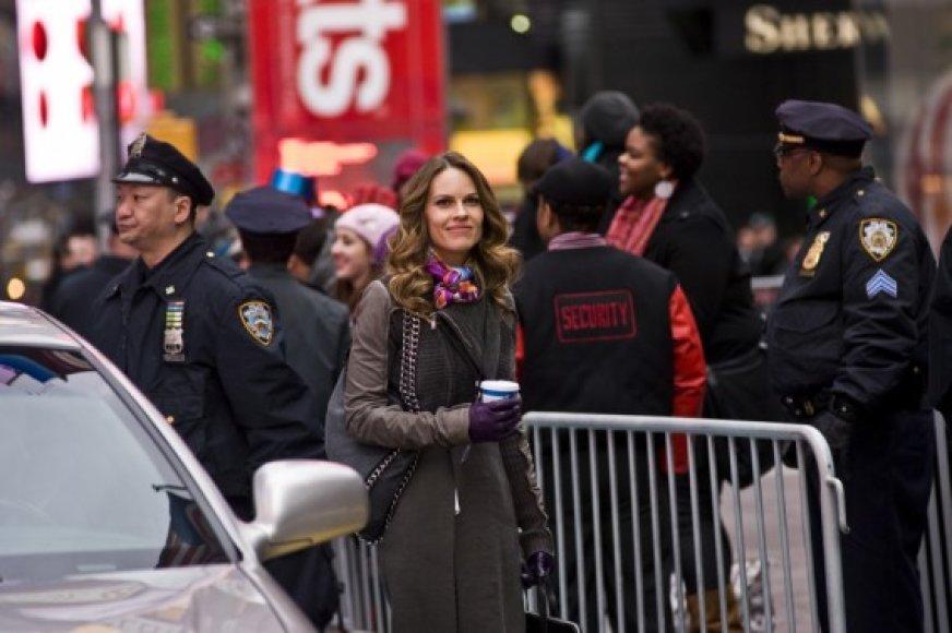 "Hilary Swank filme ""Naujieji metai Niujorke"""