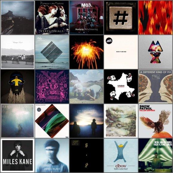 manoMUZIKA.lt sudaryto geriausių albumų TOP 30 viršeliai