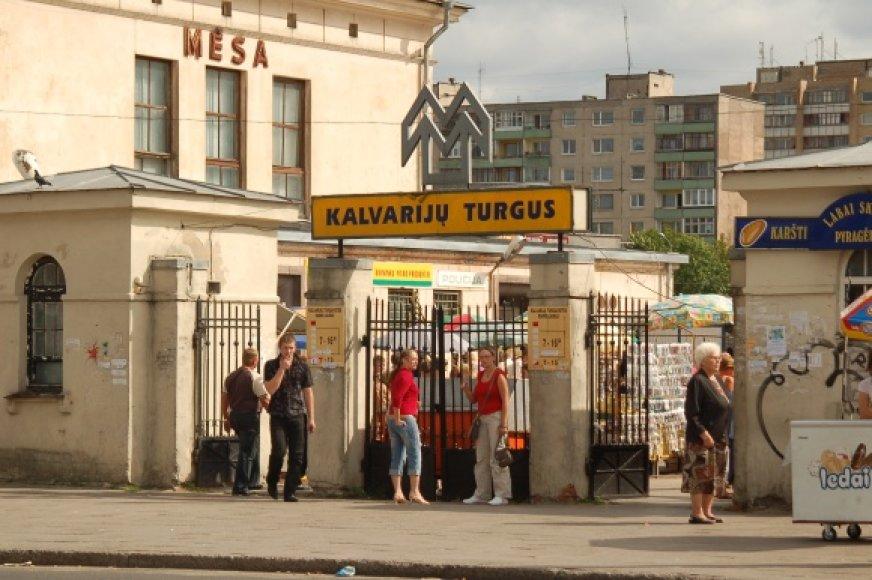 Piketuotojai antradienį tikisi išgirsti, kokia ateitis laukia Kalvarijų turgaus.