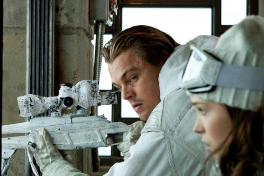 """Kino juostoje """"Pradžia"""" pagrindinį vaidmenį sukūrė Leonardo Di Caprio"""