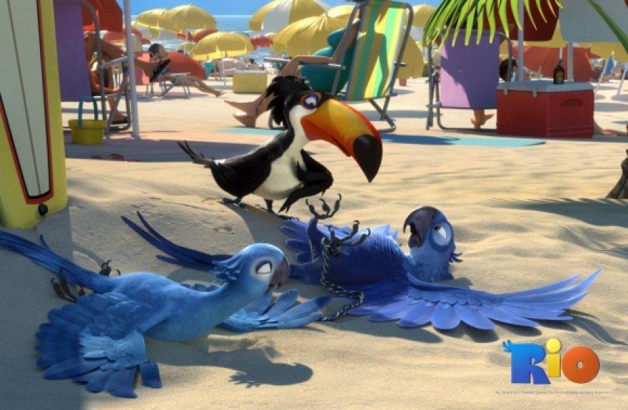 """Animacinį miuziklą """"Rio"""" kūrė """"Ledynmečio"""" režisierius Carlosas Saldanha."""