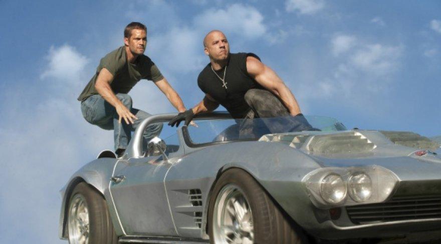"""Veiksmo filmo """"Greiti ir įsiutę 5"""" pagrindiniame vaidmenyje – Vinas Dieselis."""