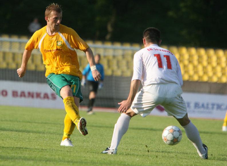 """FBK """"Kaunas"""" leista grįžti į A lygą, nors licencijavimo kriterijų klubas neatitinka"""