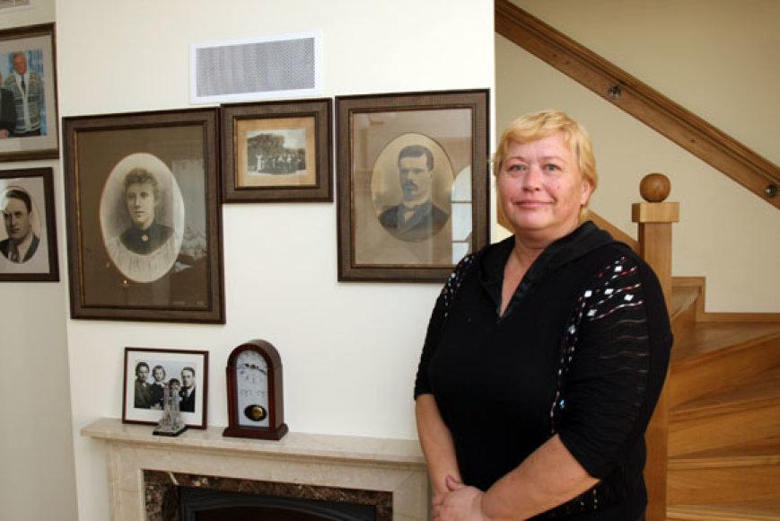 Prezidento A.M.Brazausko tėvų namą prižiūrinti kaišiadorietė