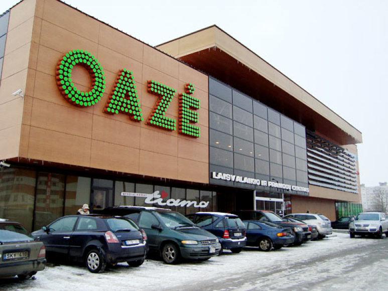 """Baseinas, kuriame apsilankę trys žmonės pasijuto prastai, veikia pramogų ir laisvalaikio centre """"Oazė"""""""