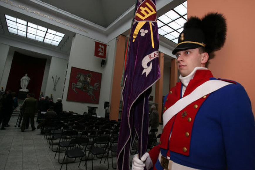 Atidaryta rekonstruota Vytauto Didžiojo karo muziejaus pagrindinė salė
