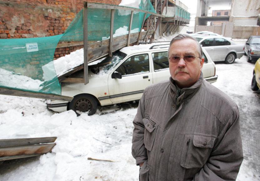 Nukentėjusio automobilio savininkas
