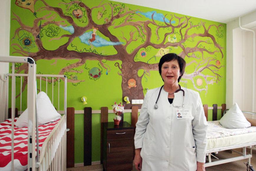 Kauno 2-osios klinikinės ligoninės Vaikų pulmonologijos skyriaus gydytoja Dalia Steponavičienė