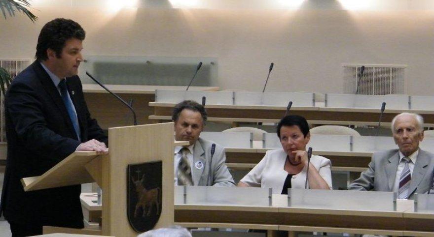 Raimundas Kaminskas (kairėje)
