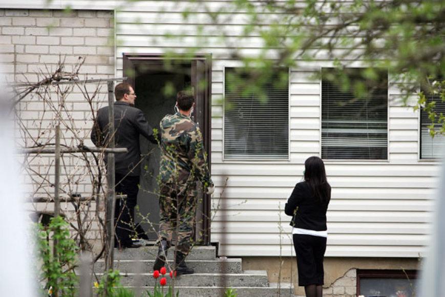 Kaimynai nužudytuosius pensininkus apibūdina kaip tvarkingus ir darbščius