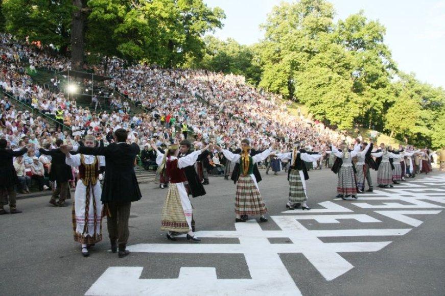 Dainų ir šokių šventė vyks kauniečiams įprastoje erdvėje – Dainų slėnyje.