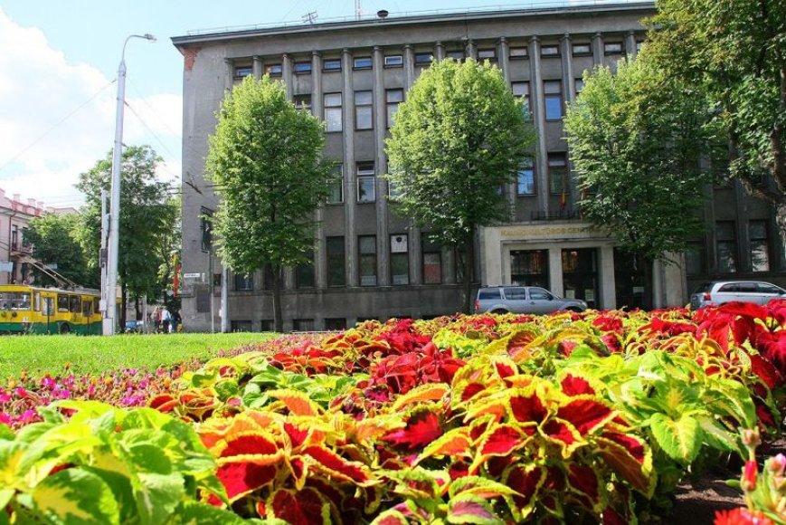 Gėlės papuošė Vytauto prospekto ir Kęstučio gatvės sankirtą, kur atgaivintas senasis gėlynas.