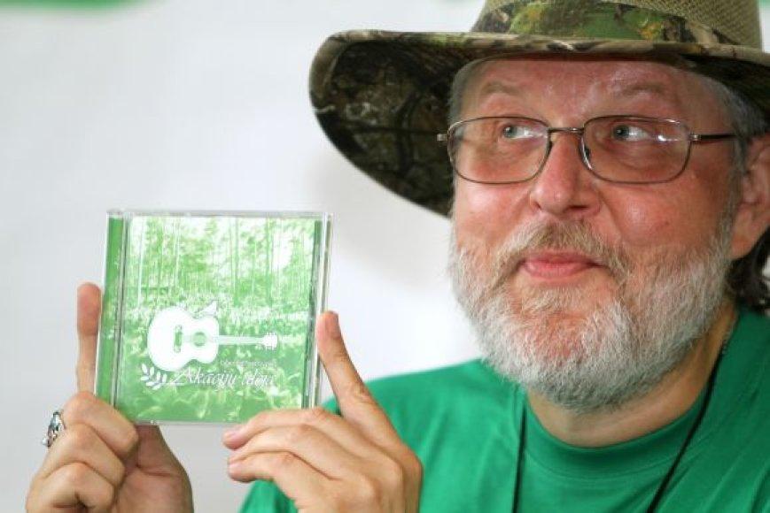 Pirmą kartą festivalio istorijoje išleistas jo dalyvių dainų CD