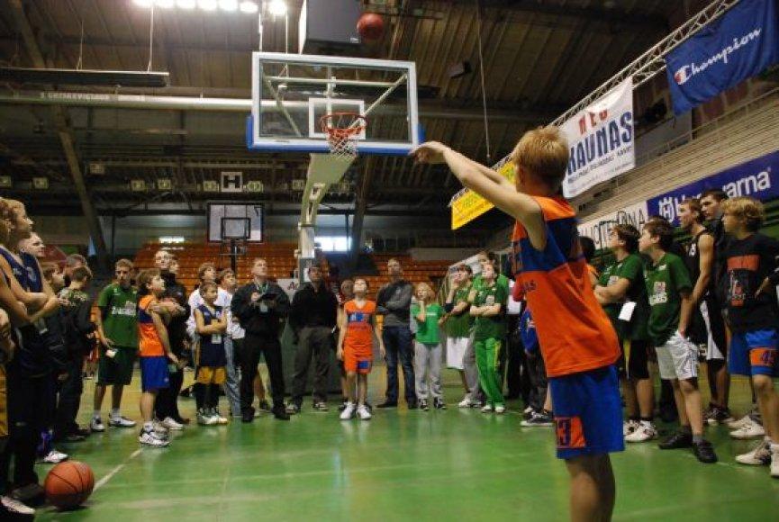 Krepšinio turnyras sulaukė susidomėjimo