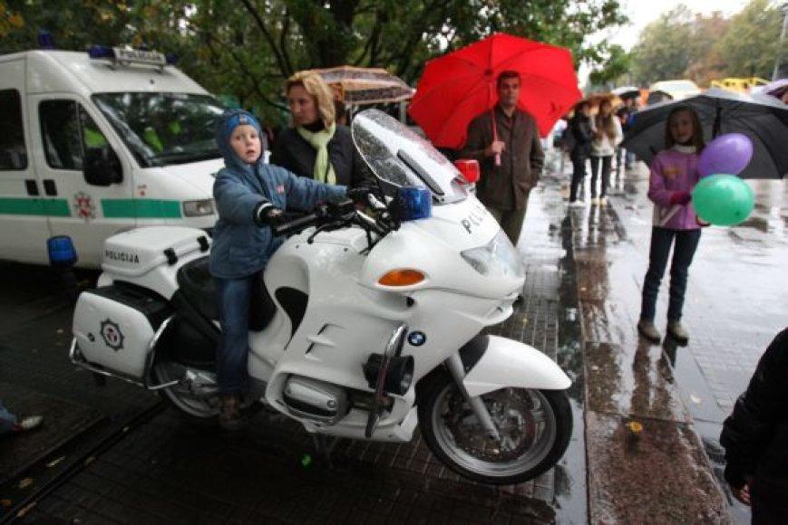 Policijos šventėje Kaune