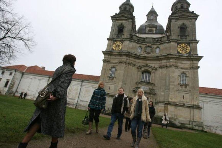 Nuo penktadienio iki vakar Kaune viešėję Naujosios Hanza sąjungos vadovai lankė įvairias, turistines, miesto vietas, pavyzdžiui, Pažaislį.