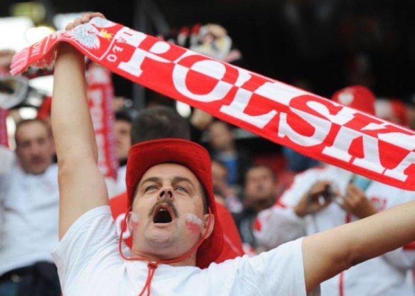 Lenkų futbolo sirgalius