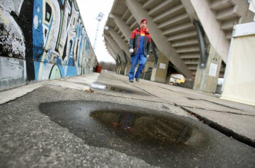 S.Dariaus ir S.Girėno stadionui, kur šiuo metu vyksta futbolo varžybos, būtina rekonstrukcija