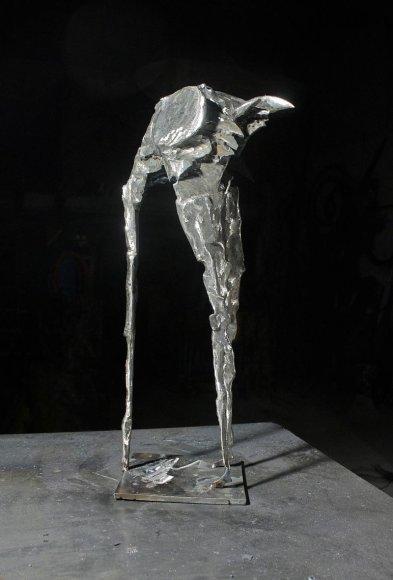 Viena iš R.Mognettis skulptūrų.