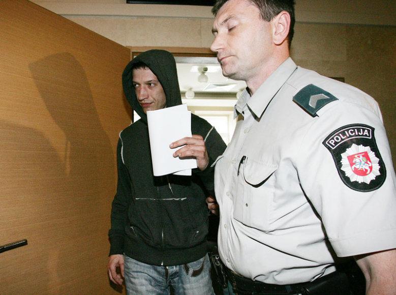 Buvusios draugės sunkiu sužalojimu įtariamas kaunietis P.Kairys