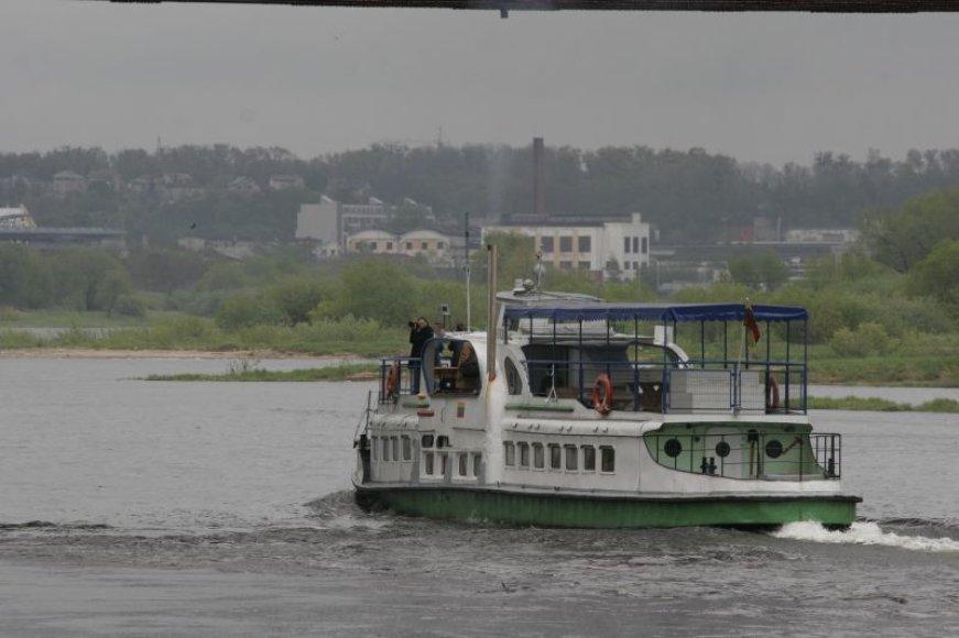 Į Kulautuvą laivas plukdys sekmadieniais.