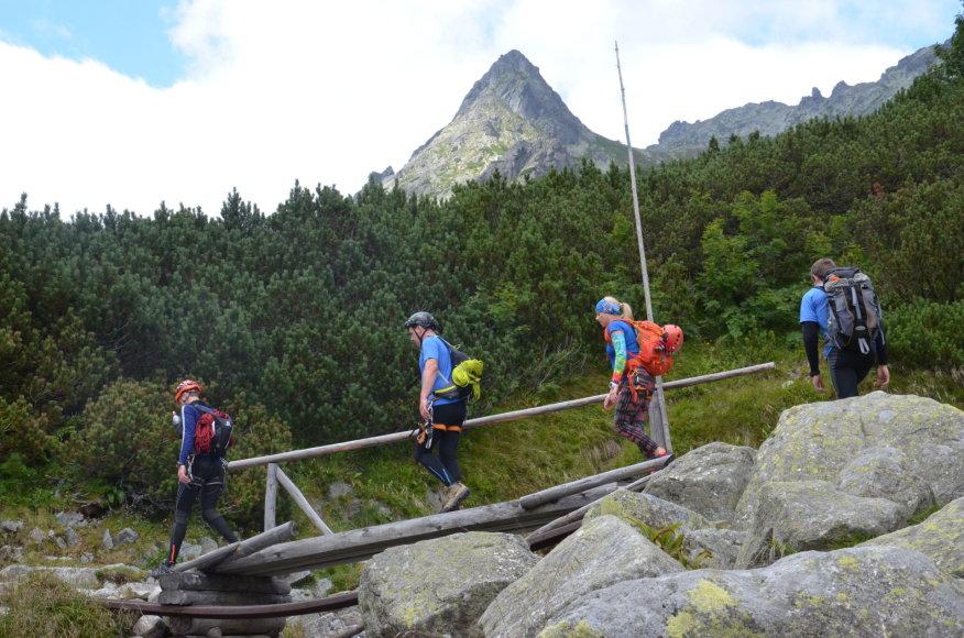 Asmeninė nuotr./Pakeliui į Rysy (2500 m)