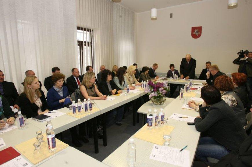 """Kauno apygardos prokuratūroje trečiadienį surengta diskusija """"Ko mes nežinome apie prekybą žmonėmis? Tarpžinybinio bendradarbiavimo iššūkiai"""""""