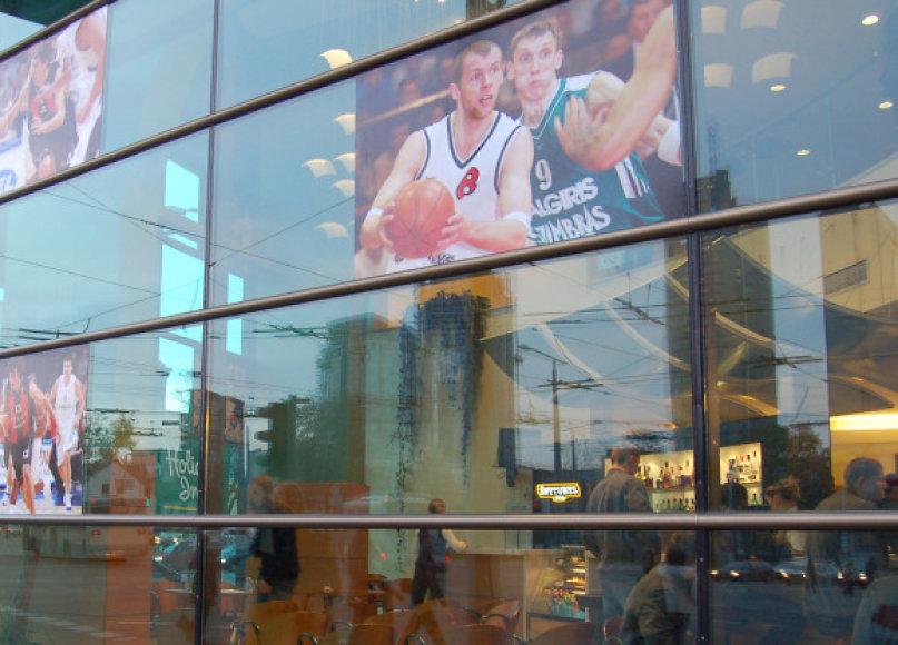 Krepšinį bus galima stebėti viešose erdvėse.