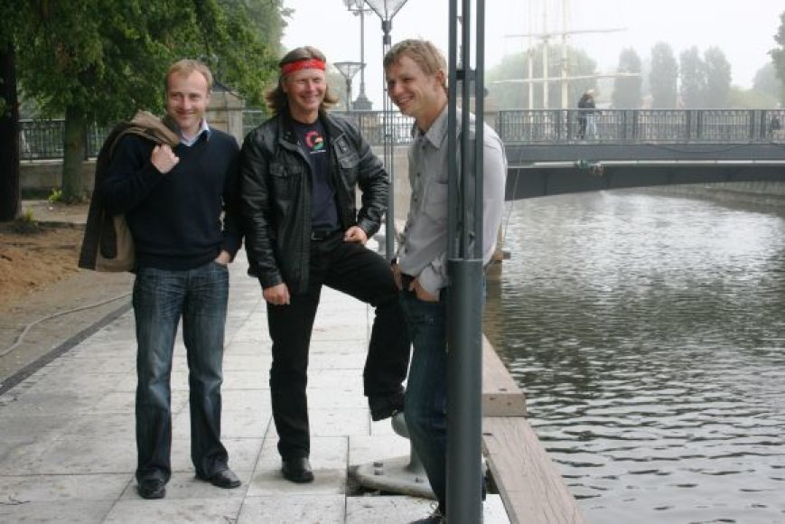 Marius Norvaišas, Jurdanas Butkus ir Paulius Paulionis pasiryžę perplaukti Baltiją nuo Gotlando salos vienvietėmis baidarėmis