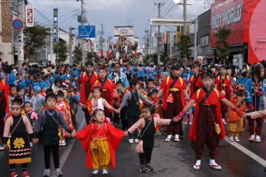 Japonijos Kudži miestą ir Klaipėdą siejanti draugystė jau trunka 20 metų.