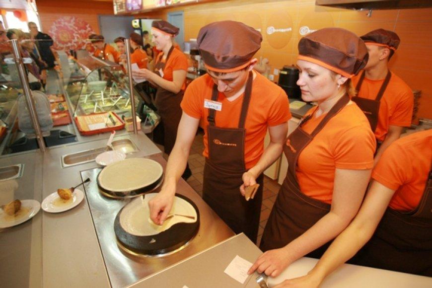 Konkursui, kurio metu paaiškės greičiausi blynų valgytojai Klaipėdoje, bus iškepta 200 blynų.