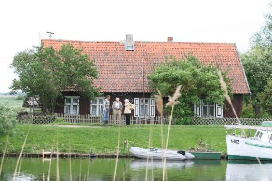 Mingės kaimas - architektūrinis draustinis.