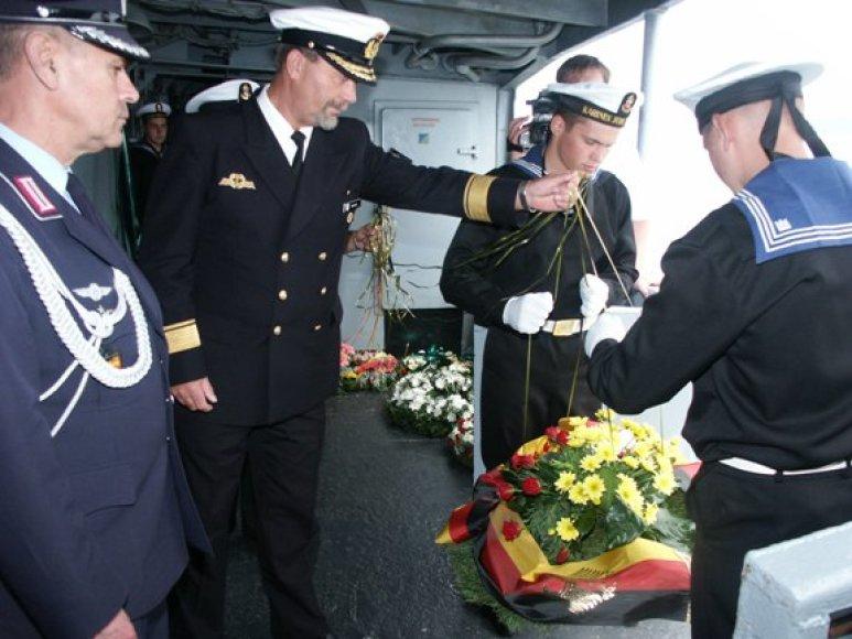 Kapitonų klubo nariai šeštadienį tradiciškai pagerbs žuvusiuosius jūroje.