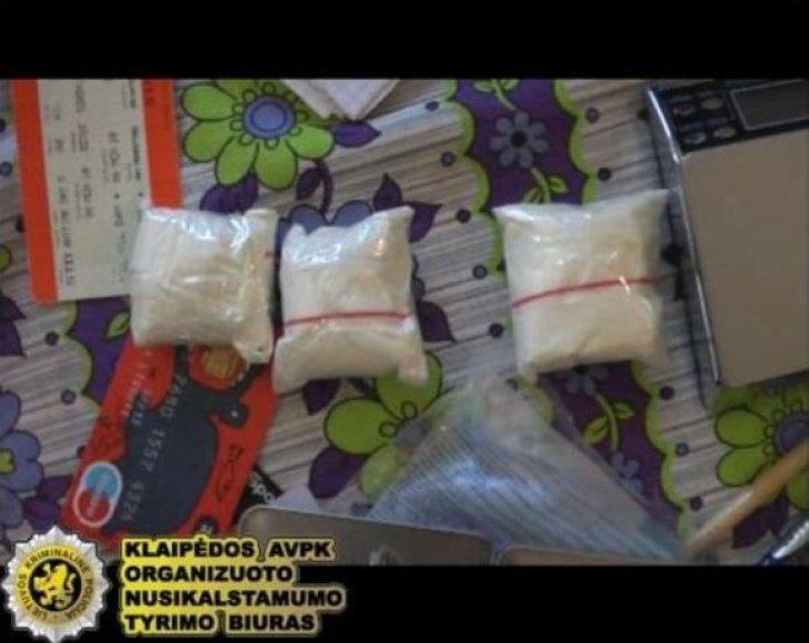 Klaipėdoje išaiškintas narkotinių medžiagų platintojų tinklas, į kurį buvo įtrauktas ir nepilnametis.