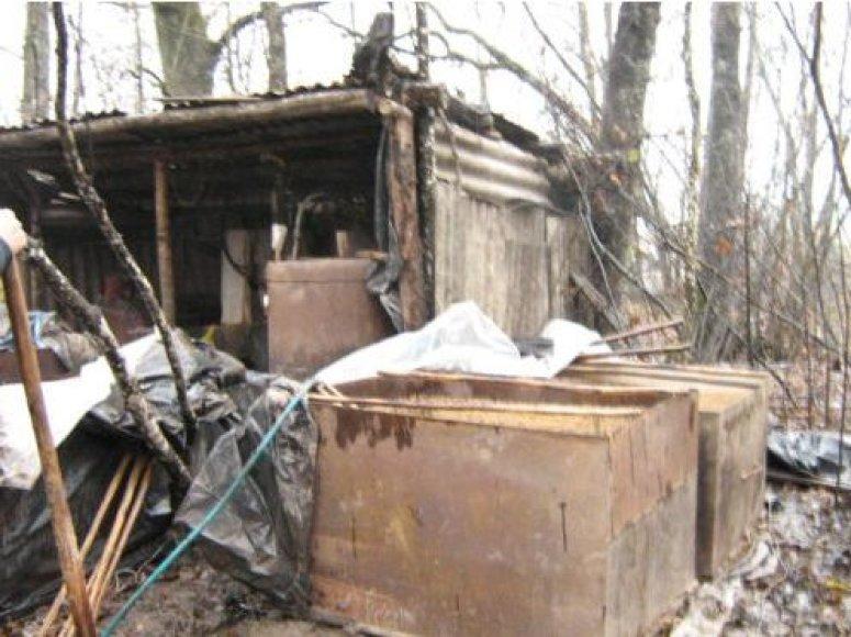 Naminei degtinei virti buvo naudojama vogta elektros energija.