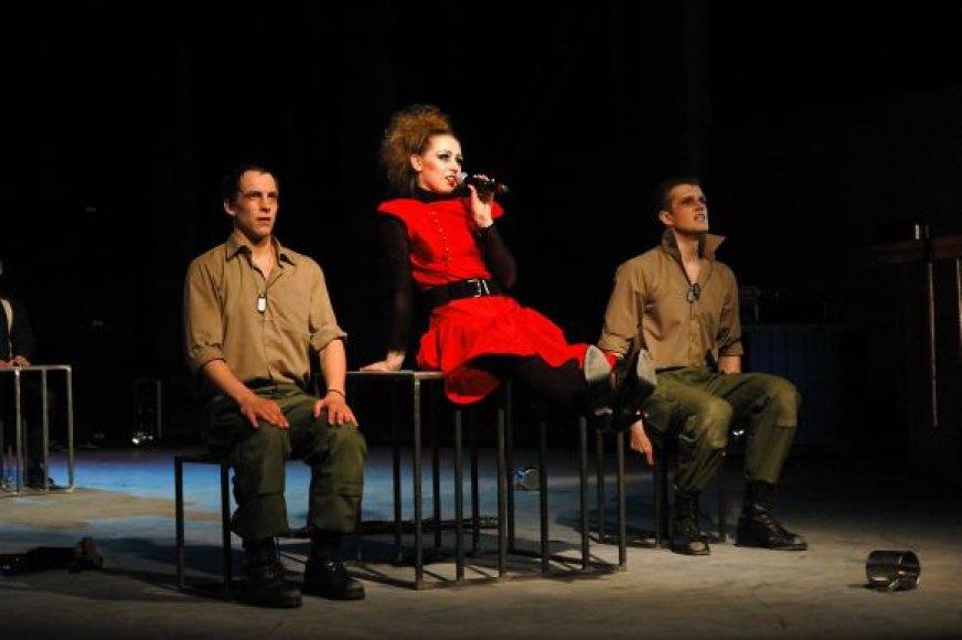"""Naujajame """"Memelio teatro"""" miuzikle – laimės paieškos."""