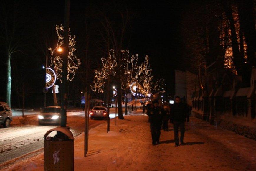 Kalėdinio stebuklo sulaukė ir Palanga.