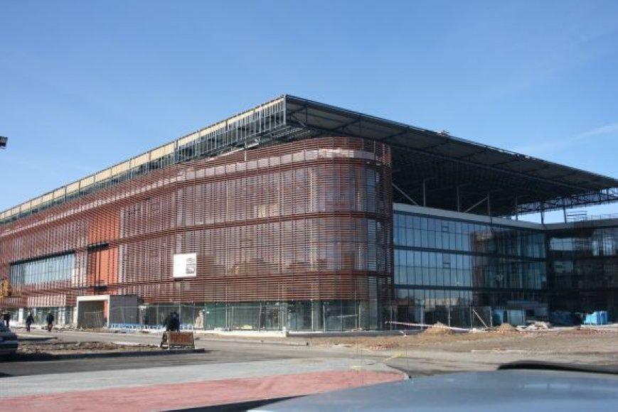 Klaipėdos arenos įkurtuvės nusikėlė.