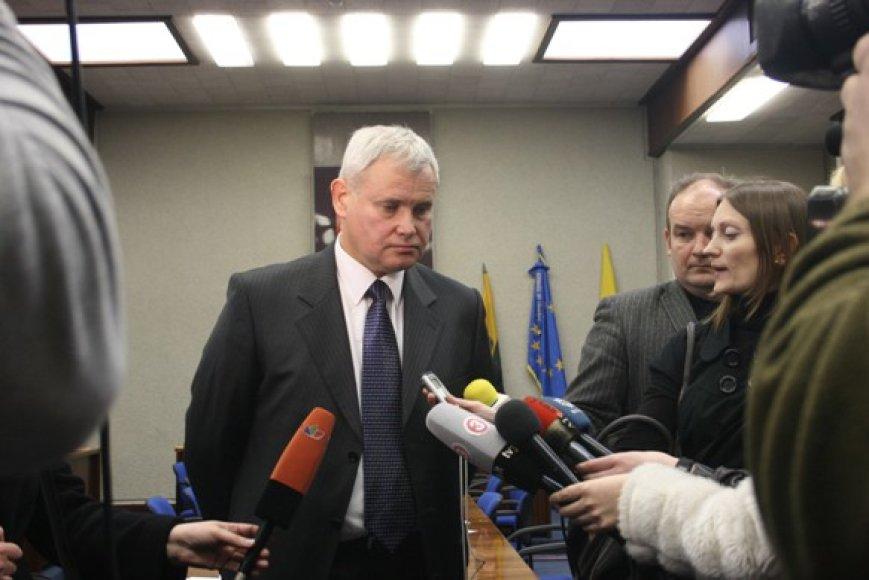 Vytautas Grubliauskas tapo septintuoju Klaipėdos meru.
