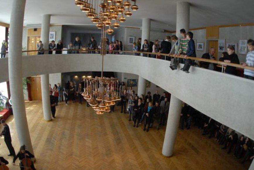 Klaipėdos valstybiniame muzikiniame teatre pagreitį įgauna Jaunųjų talentų festivalis.