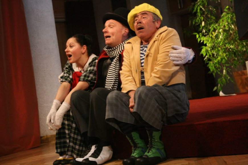 Klaipėdos valstybiniame muzikiniame teatre spektaklis bus rodoma neįprastoje erdvėje – Kolonų salėje.
