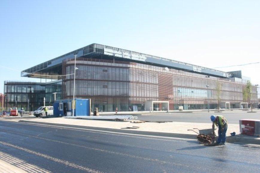 Klaipėdos arenos užbaigtuvės jau kelis kartus nusitęsė.