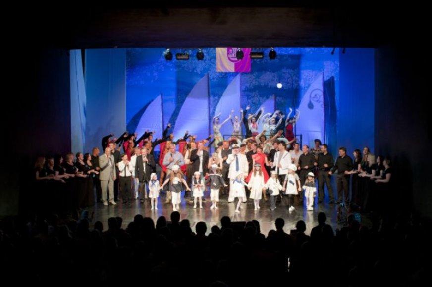 Finalinis Klaipėdos - Supermiesto koncertas vyko Muzikiniame teatre.