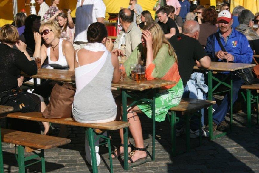 Šią vasarą Klaipėda nestokojo renginių senamiestyje, tačiau prekyba nebuvo pelninga.