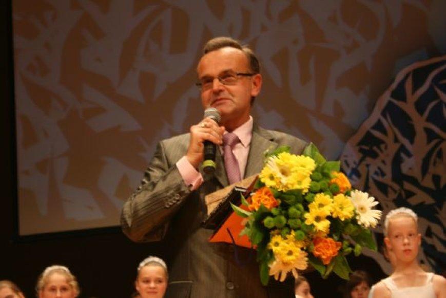 Klaipėdos metų mokytojumi tapo Jurijus Šapenkovas.