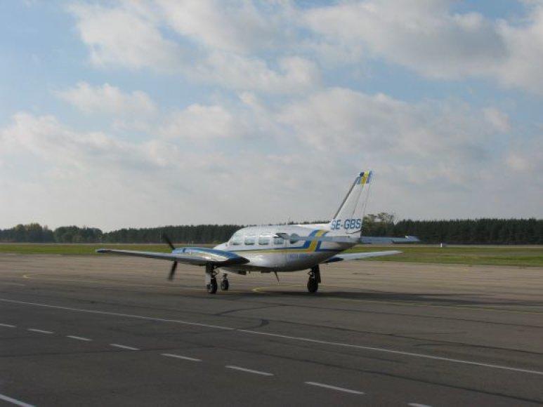 Keleiviai iš Palangos jau skraidinami ir į Švediją.