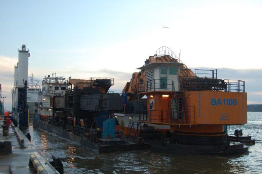 Klaipėdiečiai remontuos olandišką žemsiurbę
