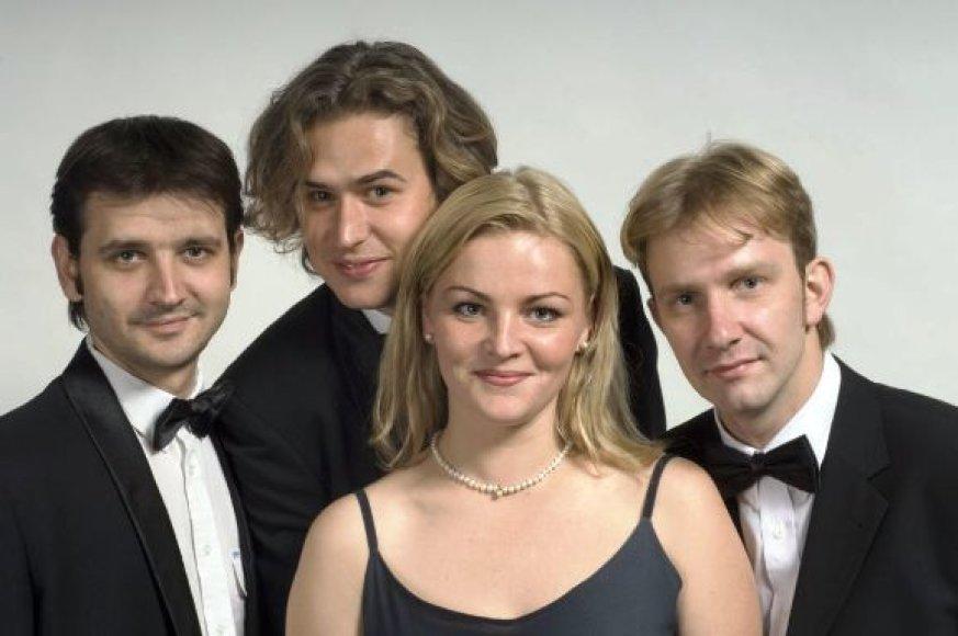 """Styginių kvartetas """"Art Vio"""" yra daugelio konkursų laureatas"""