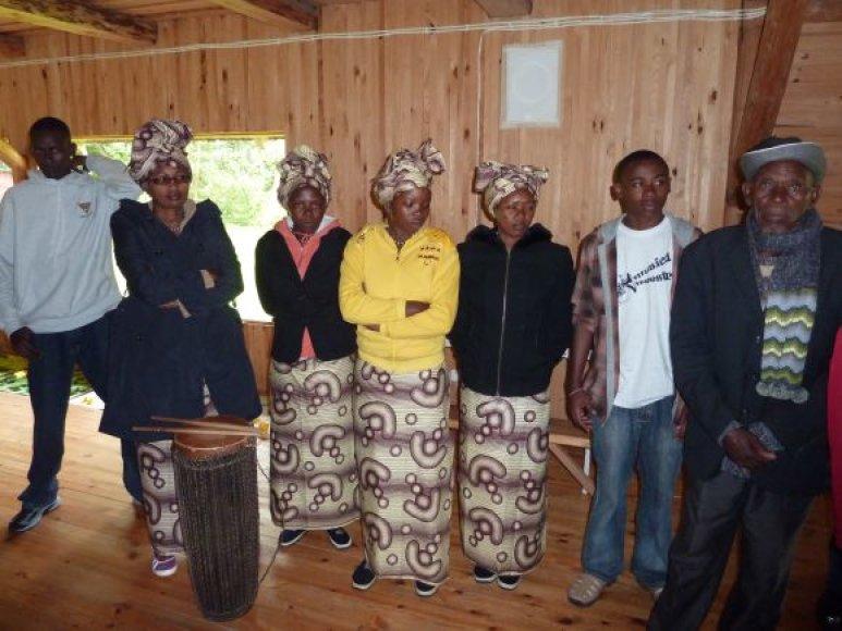 Svečiai iš Ruandos lankysis Klaipėdos Marijos Taikos Karalienės bažnyčioje.