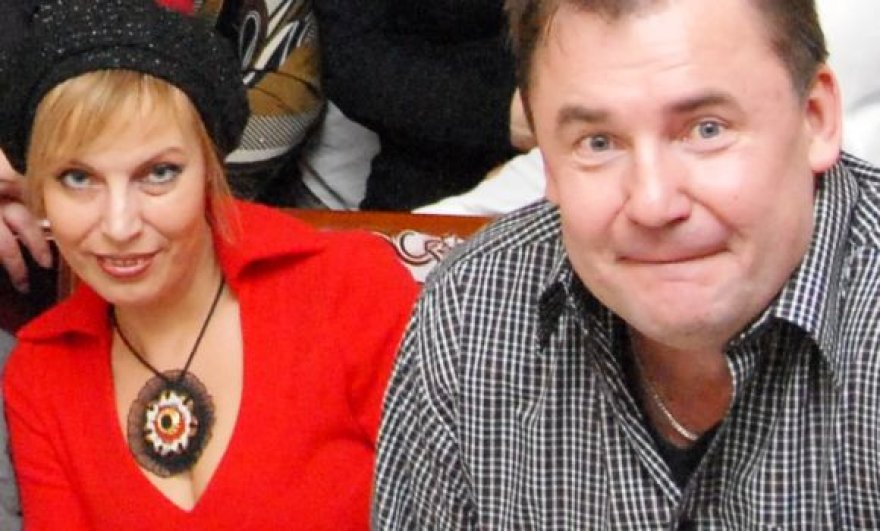 Naujosios dainos kūrėjai - D.Bielskytė ir V. Grušas.